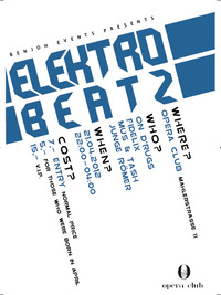 Electro Beatz presented by BenJoh Events