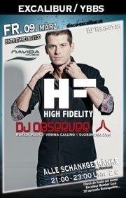 High Fidelity mit DJ Observer