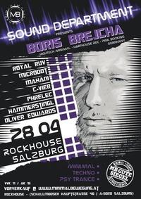 Minimalbewegung pres. Sound Department with Boris Brejcha@Rockhouse