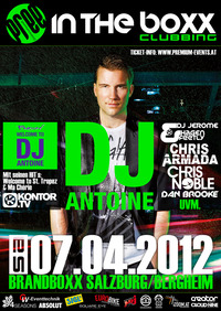 In the Boxx Clubbing - DJ Antoine live