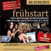 frühstart mit DJ Fillini@Disco-Vulcano