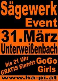 Sägewerk Event@Altes Sägewerk