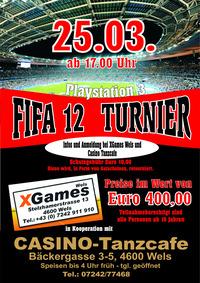 PS3 FIFA 12 Turnier
