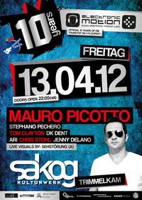 Mauro Picotto@Kulturwerk Sakog