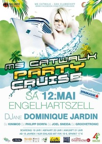 Party Cruise mit Djane Dominique Jardin