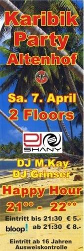 Karibik-Party@Festhalle Helmhart