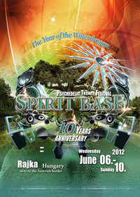 Spirit Base Festival 2012 - 10 Years Anniversary@Danube River