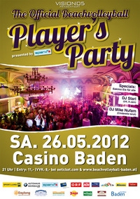 Player's Party presented by Spark7@Casino Baden