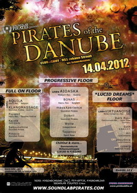 Pirates of the Danube - 30 Artists on 3 Stages