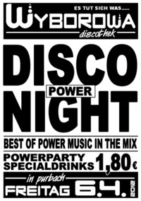 Disco Power Night