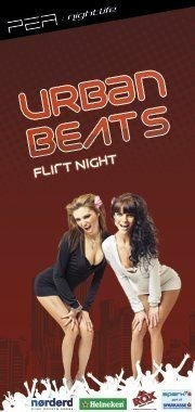 PEA:nightlife presents: URBAN BEATS