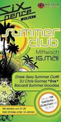 Summer Club@Club Six Pence