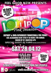 Lollipop - Pink Invasion