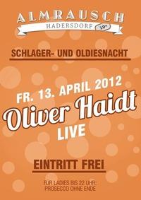 Oliver Haidt - live@Almrausch Hadersdorf 19+