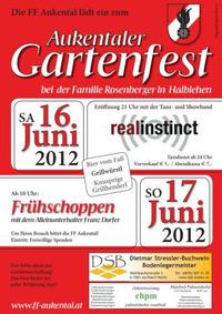 Gartenfest der FF Aukental@Halblehen