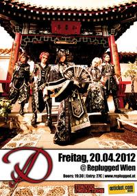 D Europe Tour 2012