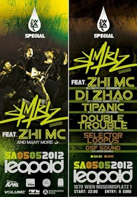Sweat pres. Symbiz Sound ft. Zhi Mc + Dj Zhao Uvm.@Café Leopold