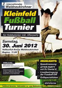 Waldneukirchner Fussball-Hobbyturnier 2012
