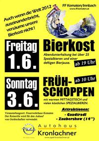 Bierkost FF-Kematen@Feuerwehrhaus