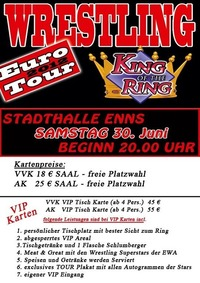 EWA - King of the Ring - Euro Tour 2012