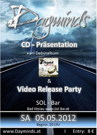 Dayminds - CD-Präsentation & Video Release Party@Sol Bar