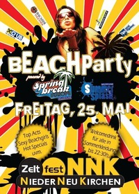 Beach Party @ Zeltfest Niederneukirchen@Sportanlage
