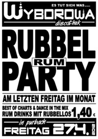 Rubbel Rum Party
