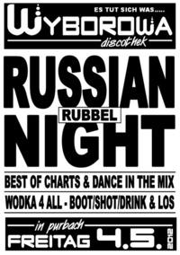Russian Rubbel Night