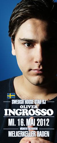Swedish house star - DJ  Oliver Ingrosso@Melkerkeller Baden