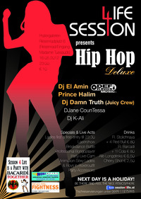 Session 4 Life presents Hip Hop Deluxe