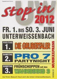 Stop in UW 2012@Zeltfestlocation (Neben Aumayr Waschbox)