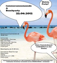 Beachparty & Sommersonnenwende