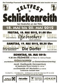 Zeltfest Kornberg-Schlickenreith