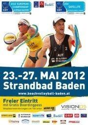 CEV Baden Masters & Satellite pres. by Sport.Land.NÖ & Autohaus Bierbaum