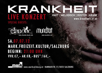 Krankheit live in Concert@MARK.freizeit.kultur