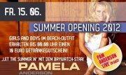 Summer Opening 2012 mit Pamela Anderson (baywatch)