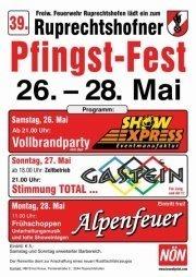 Pfingsfest der FF Ruprechtshofen@Festplatz
