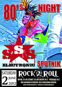 80'night - Sigue Sigue Sputnik (new wave, Post-punk, Glam rock)@Rocknroll Bolzano