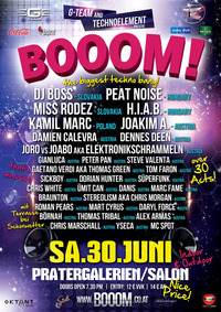 G-Team & Technoelement presents - BOOOM!