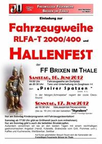 Hallenfest FF Brixen@FF Brixen im Thale