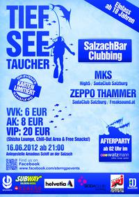 Tiefseetaucher - SalzachBar Clubbing