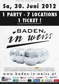 Baden in Weiss