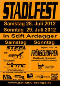 Stadlfest Frühschoppen - Stift Ardagger des WSC Definitiv Orange Watersports@Feststadl - Stift Ardagger