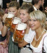 """Wir trinken Bier nur an Tagen die mit """"g""""enden. Und Mittwochs."""