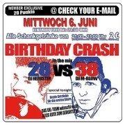 Birthday Crash - 28 vs 38