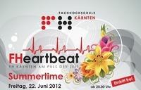 FHeartbeat - FH-Sommerfest & Summertime Party@FH Kärnten, Standort Villach
