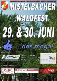 Mistelbacher Waldfest....des moga!!