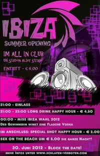 Ibiza Summer Opening 2012@All iN