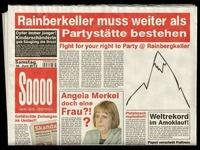FREEPARTY - Zur Erhaltung des Rainbergkellers!