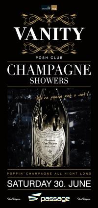 Vanity - The Posh Club pres. Champagne Showers
